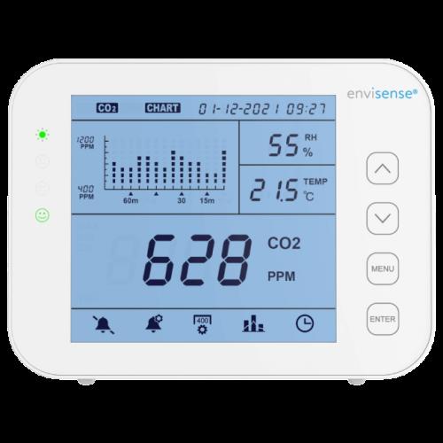 EnviSense koolstofdioxide meter